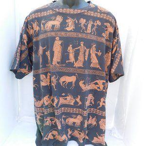 Vintage 90s Greek Mythology Single Stitch Shirt